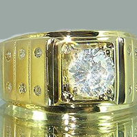 Lab Created Diamond Ring #1002