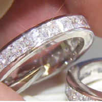 Lab Created Diamond Ring #102