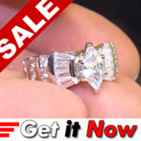 Lab Created Diamond Ring #50