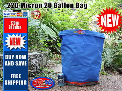 20 Gallon 220 Bubble Wacky Bag