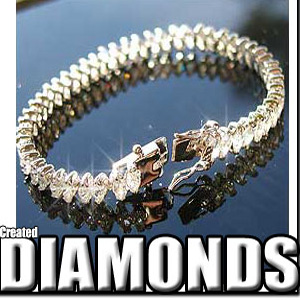 Lab Created Diamond Bracelet #38