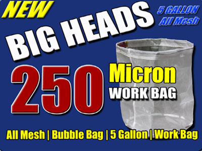 Big Heads 250 Micron All Mesh Work Bag