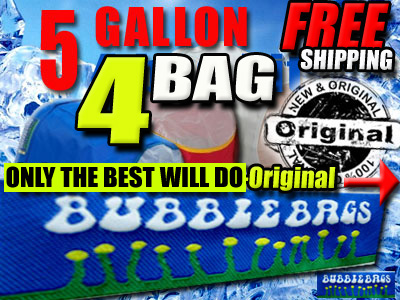 Original Bubble Bags | 5 Gallon 4 Bag Kit
