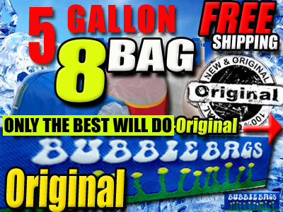 Original Bubble Bags | 5 Gallon 8 Bag Kit