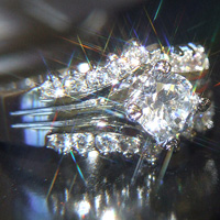Lab Created Diamond Ring #52