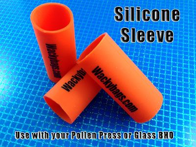 Silicone Sleeve for Pollen Press and Glass