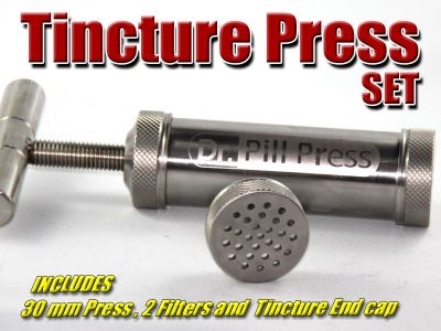 Stainless Steel Tincture Press Green Dragon
