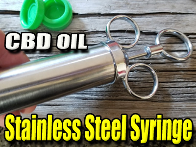 Stainless Steel Syringe