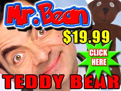 Bean Teddy Bear Image...