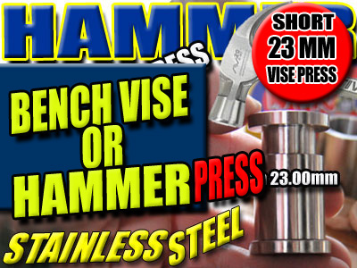 HAMMER POLLEN PRESS | HASHISH PUNCH PUCK MAKER