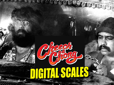 Cheech And Chong Digital Scale