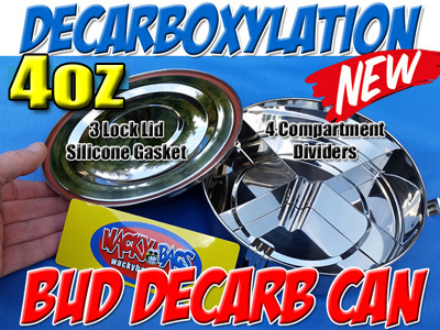 DECARB CAN | STAINLESS STEEL | DECARBOXYLATION CONTAINER