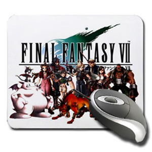 Final Fantasy Group Mouse Pad