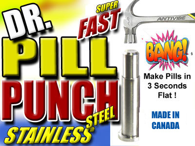 Canadian Pollen Press | 22 mm x 110 mm