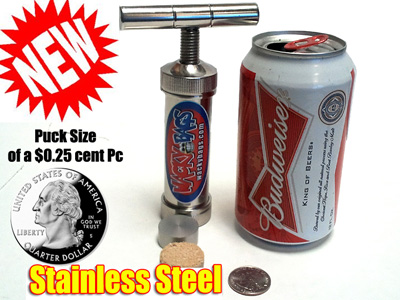 Stainless Steel Keif Press
