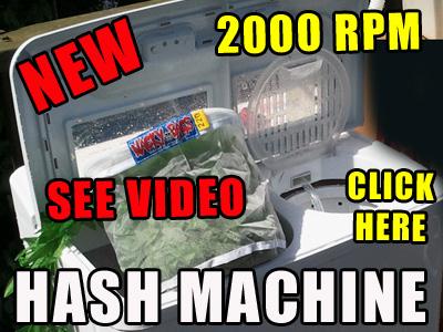 hash making machine