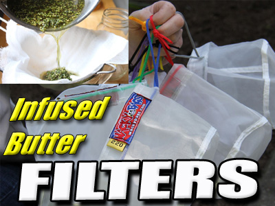 Infused Butter Filter Bags