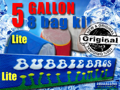5 Gallon 8 Bag Bubble Bag Lite