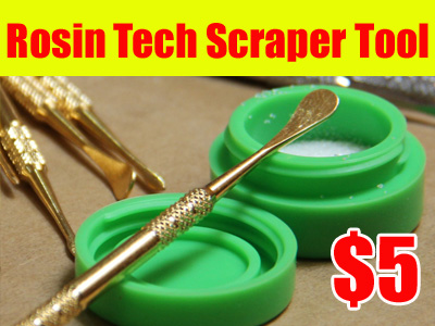 Rosin Tech Scraper