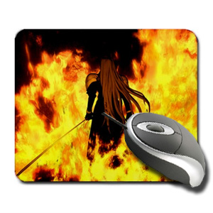Final Fantasy Sephiroth Fire Mouse Pad