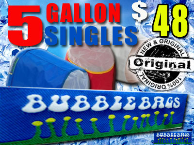 Bubble Bag | Single 5 Gallon Original Bag