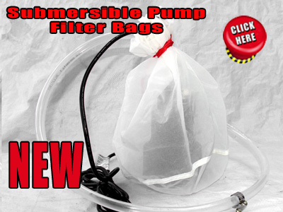 Submersible Pump Filter Bag