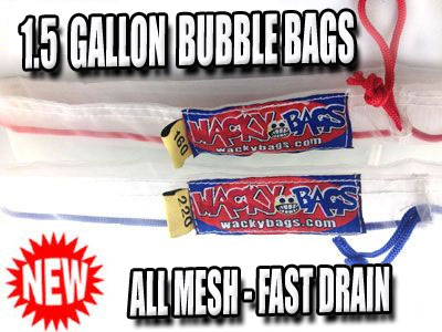 Small Dry Ice Extraction Bags | 1.5 Gallon