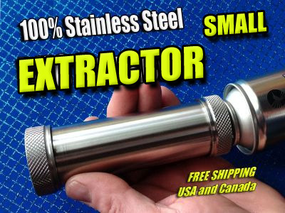 Stainless Steel BHO Oil Extractor