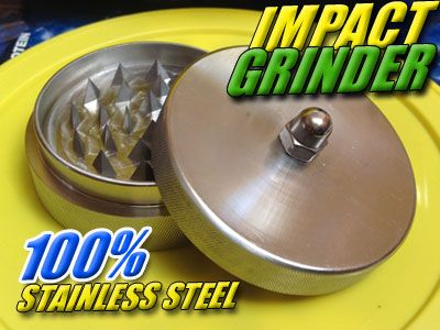 100% STAINLESS STEEL | GRINDER