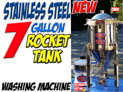 7 GALLON |STAINLESS STEEL | HASH WASHING MACHINE