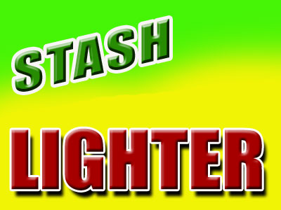 Chrome Stash Container
